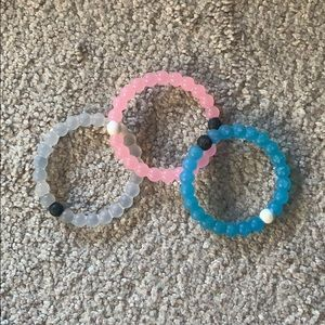 Three Lokai Bracelets on sale for $25